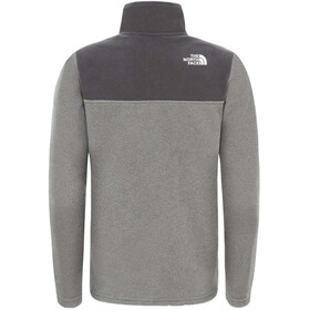 The North Face Glacier Pull Polaire Zip 1/4 Adolescents, TNF medium grey heather/TNF medium grey heather